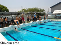 Picture of Athletic Meeting of KOSEN in Shikoku area