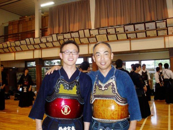 Picture of  Mr. Ben Foo Ming Sheng  in Kendo Wear