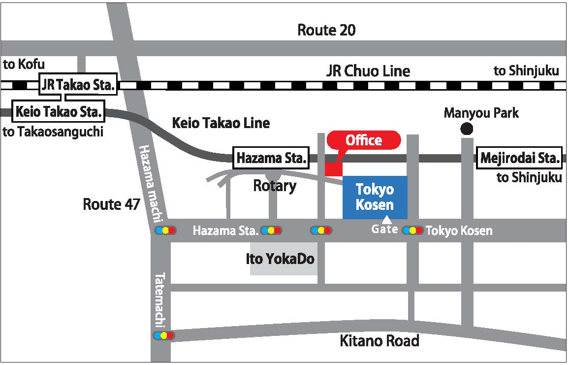 head office map