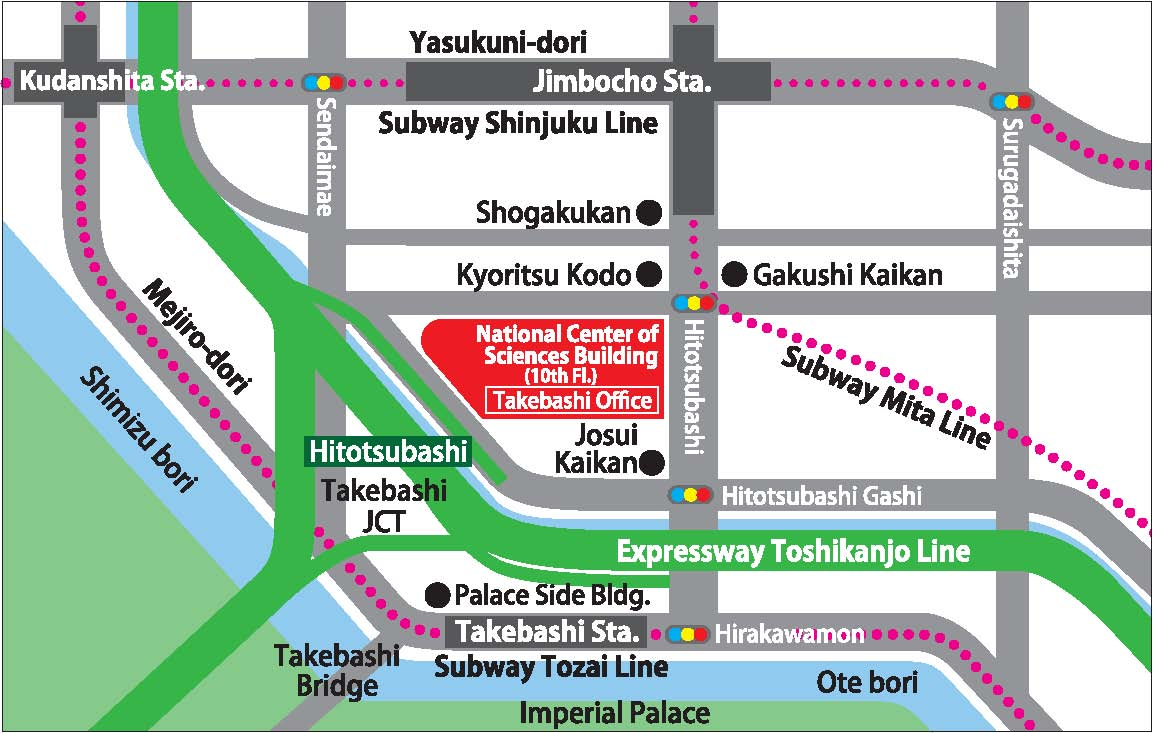 Takebashi office map